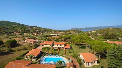 A bird's-eye view of Lido Azzurro Residence
