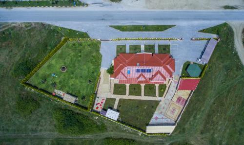 A bird's-eye view of Anthemida Rooms