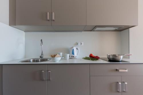 Küche/Küchenzeile in der Unterkunft Flateli 430 BCN