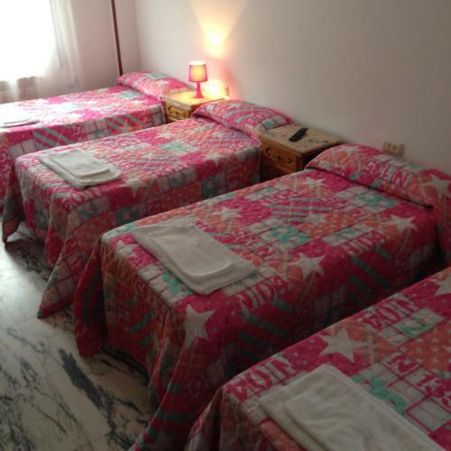 A room at Pensión Glorioso