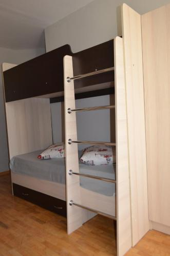 A bunk bed or bunk beds in a room at Hostel WWW