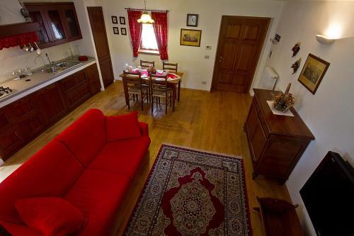 Area soggiorno di Casa Cebajova