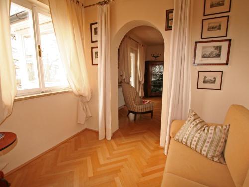 Ein Sitzbereich in der Unterkunft Apartment Soriat