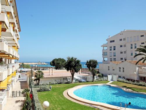 The swimming pool at or near Apartment Sol Y Mar
