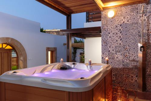 Spa and/or other wellness facilities at Lindos Aqua Luxury Villa