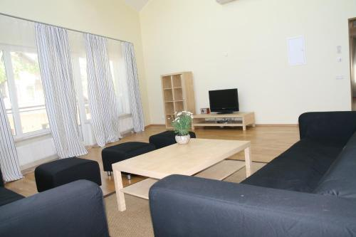 A seating area at Pilve Apartments