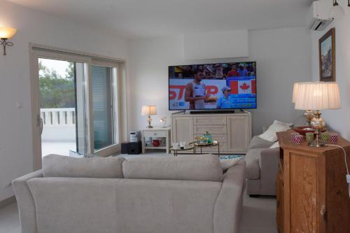 Lounge nebo bar v ubytování Villa Perun