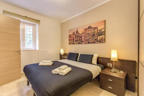 A room at Aurelia Vatican Apartments