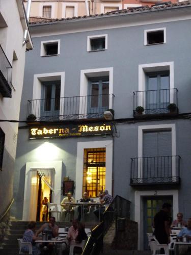 The facade or entrance of Casa de Tintas