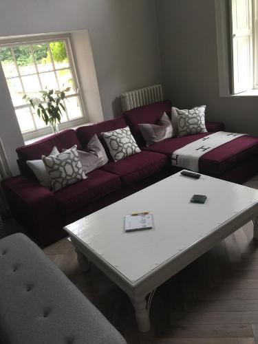 A seating area at The Old Rectory Mews