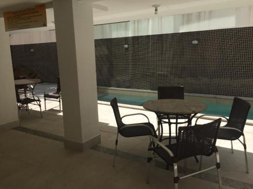 O lounge ou bar de Apartamento Capitães de Areia Ilheus