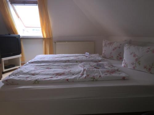 Ein Zimmer in der Unterkunft Fewo Zur Ilmenau