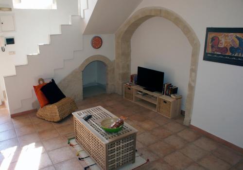 Area soggiorno di Il Nido nei Sassi