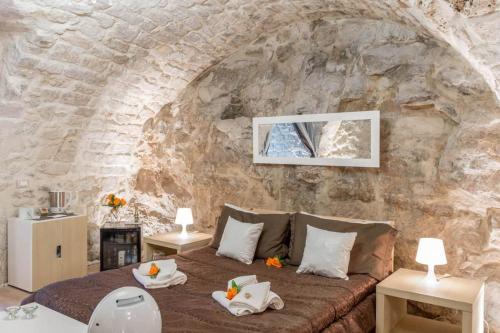A seating area at Atmosfere Di Roccia