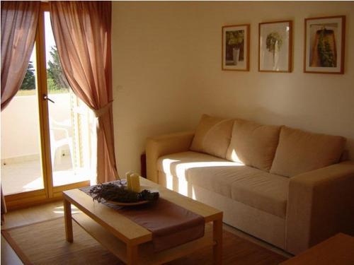 A seating area at Casa Riva