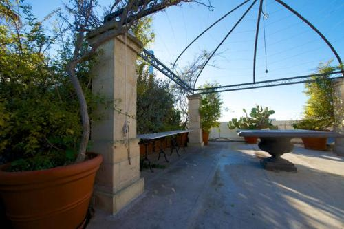 A porch or other outdoor area at Casa Tridente