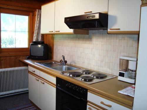Küche/Küchenzeile in der Unterkunft Haus Sonnenrose
