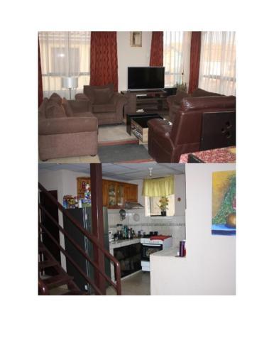 Una televisión o centro de entretenimiento en La casa de Rodrigo