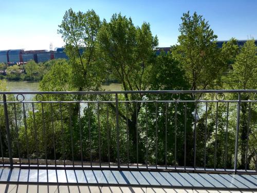 Balcon ou terrasse dans l'établissement Lyon Cité Internationale