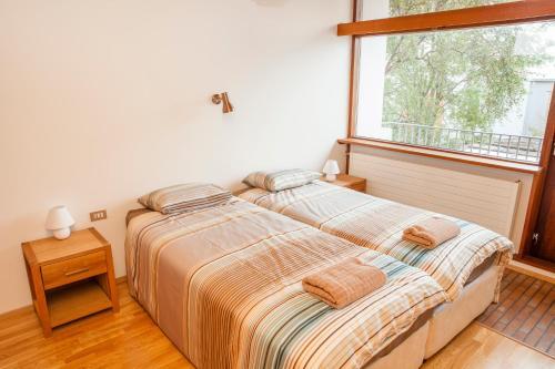 A room at Cozy 60's villa in Reykjavik