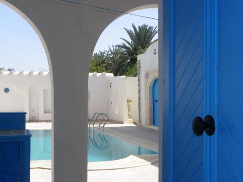 Un patio sau altă zonă în aer liber la Resa Dar Sema Djerba
