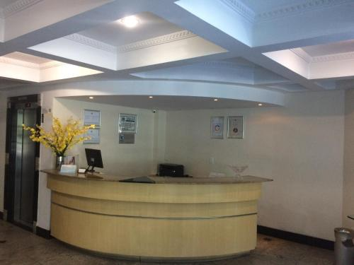 The lobby or reception area at Apart Quartier Latin Hotel