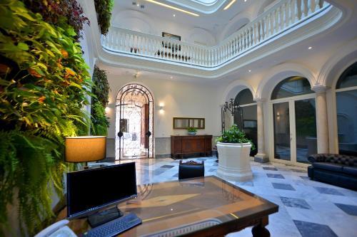 O saguão ou recepção de El Armador Casa Palacio