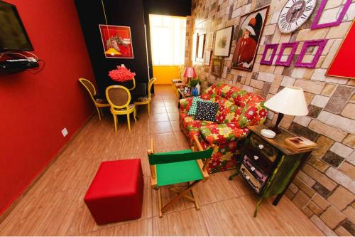 O lounge ou bar de Eco & Eccentric Apartment