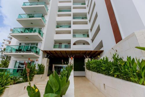 A balcony or terrace at Condominio Girasol by Ocean Dream