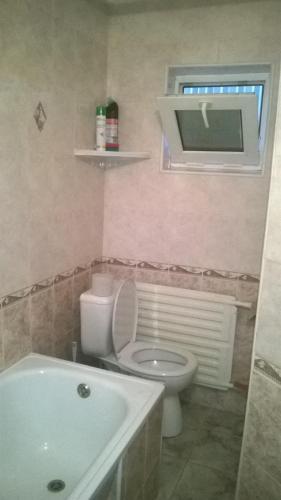 A bathroom at Hostel Uyutny