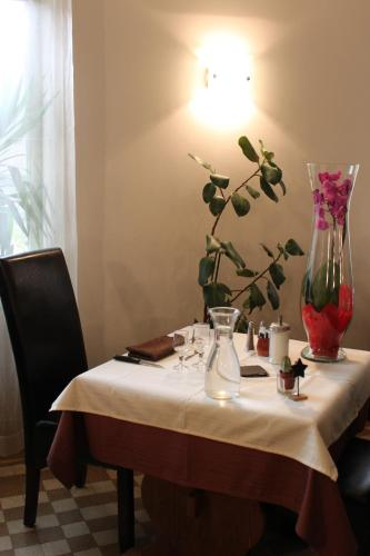 Restaurant ou autre lieu de restauration dans l'établissement Hôtel Restaurant de la Dore