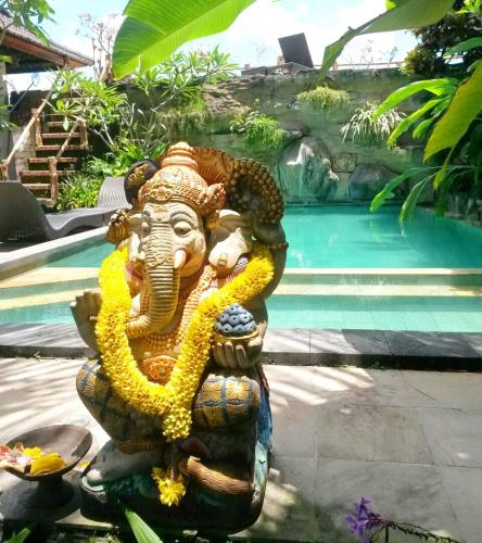 Guests staying at Permana Ubud Cottage