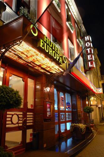 Fasada lub wejście do obiektu Hotel Europa