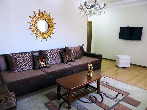 A seating area at Best-BishkekCity Apartments 2