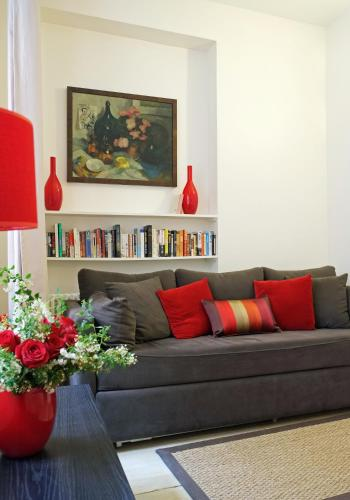منطقة جلوس في Apartment Bac St. Germain