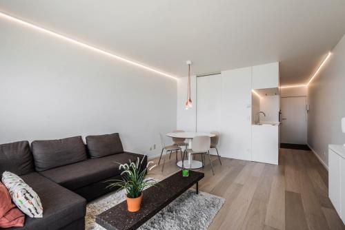 A seating area at Studio Zeezicht