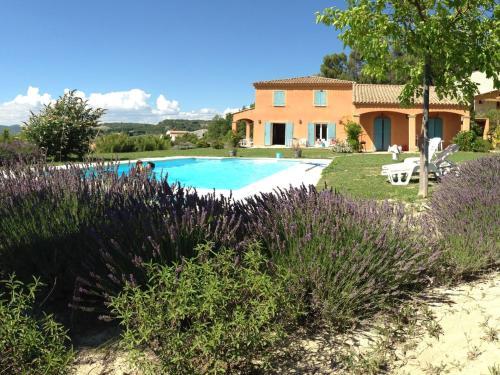 The swimming pool at or near Luxury Villa with Pool in Saint-Michel-l'Observatoire