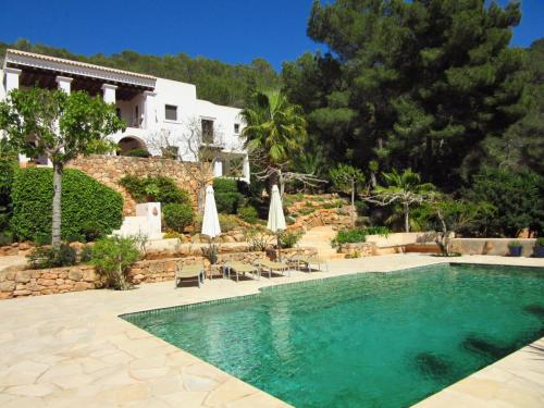 The swimming pool at or near Spacious Mansion in Ibiza with Swimming Pool