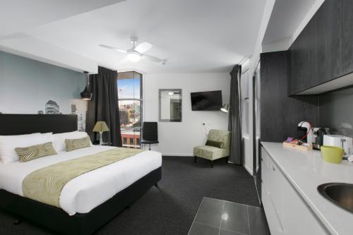 A room at Menso at Southbank