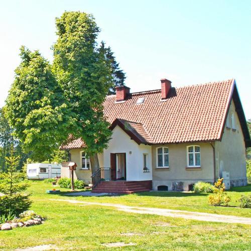 Zahrada ubytování Leśniczówka Różana Polana
