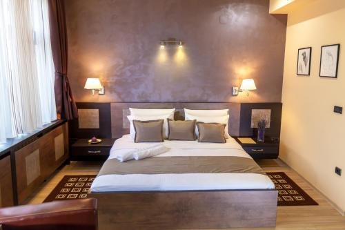 Krevet ili kreveti u jedinici u okviru objekta Amarilis 717