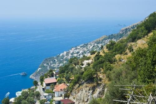 A bird's-eye view of Casa Lisuccia