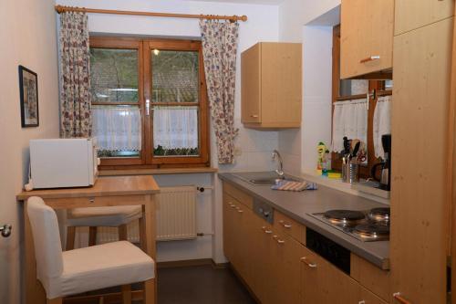 Küche/Küchenzeile in der Unterkunft Landhaus Hohenschwangau