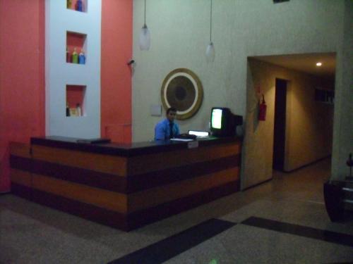 The lobby or reception area at Apartamento Praia De Iracema