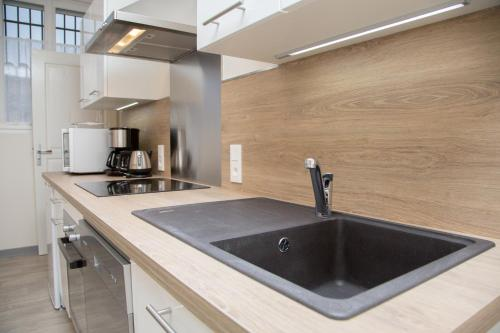 A kitchen or kitchenette at Albiappart