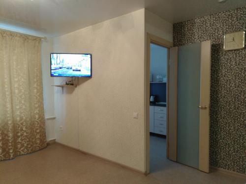 Телевизор и/или развлекательный центр в Apartment on Gogolya 50