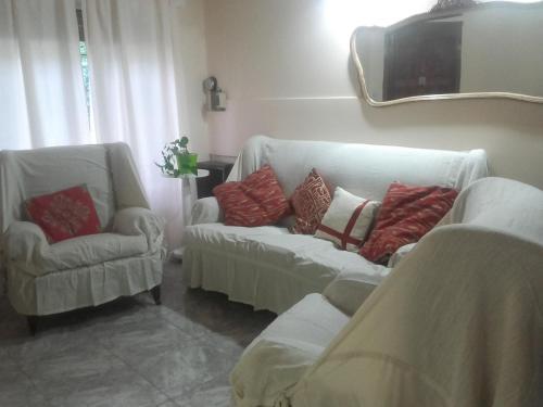 Un lugar para sentarse en Las Acacias De Santa Rosa