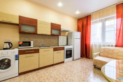 Кухня или мини-кухня в Гостеприимный Краснодар - Зиповская 3