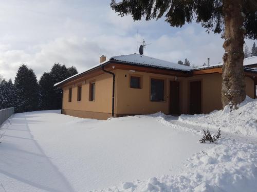 Chalupa na Lipně - Holiday House 1 v zimě