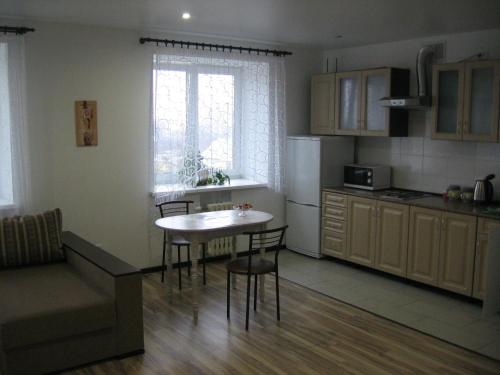 A kitchen or kitchenette at Apartment Anna